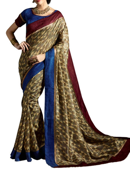 Saree From West Bengal In Multicolour - PWBSAI19JN43