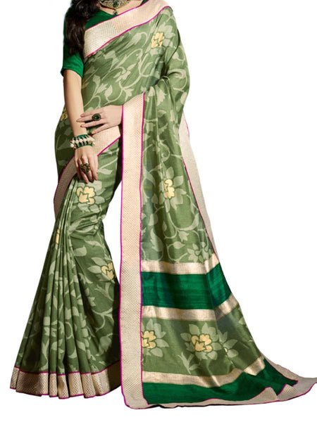 Saree From West Bengal In Multicolour - PWBSAI19JN48