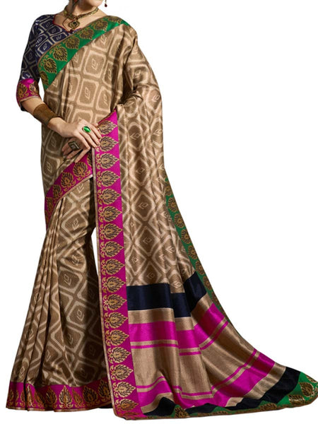Saree From West Bengal In Multicolour - PWBSAI19JN49