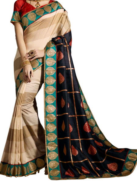 Saree From West Bengal In Multicolour - PWBSAI19JN52