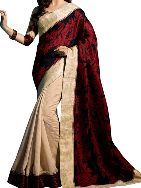 Saree From West Bengal In Multicolour - PWBSAI19JN55