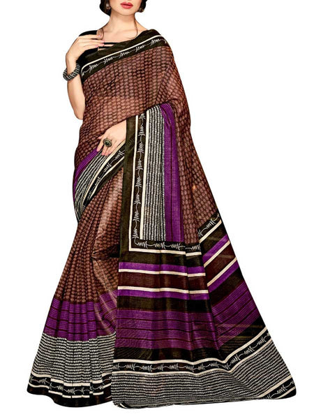 Saree From West Bengal In Multicolour - PWBSAI19JN108