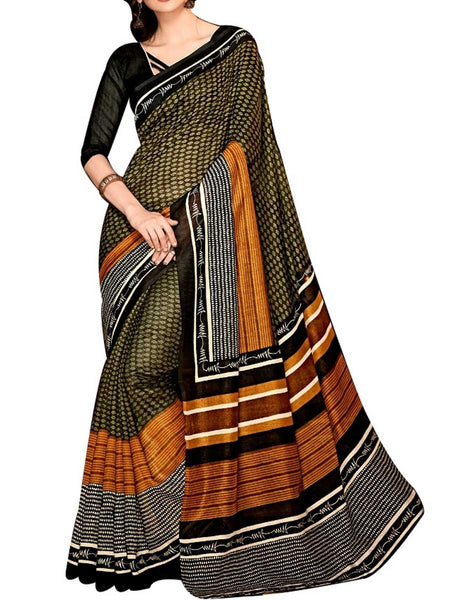 Saree From West Bengal In Multicolour - PWBSAI19JN109