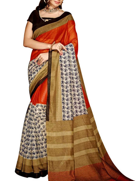 Saree From West Bengal In Multicolour - PWBSAI19JN119