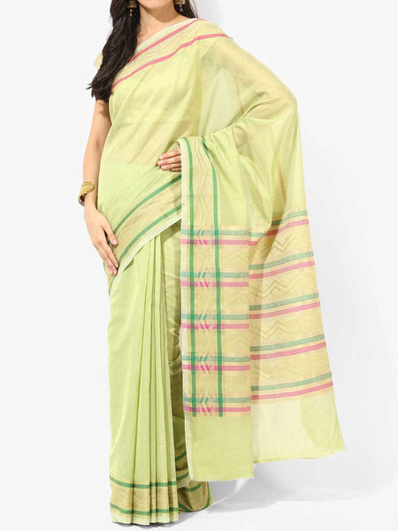 Banarasi Saree In Green - RB-BPBUSA11JL407