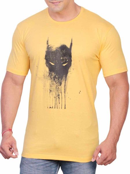 Cotton T Shirt From Delhi In Yellow - PT-PDT29AG4