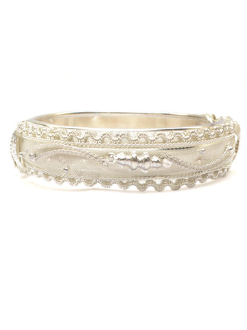 Bangle From Moradabad In Silver - CHUJB11FBY2-28