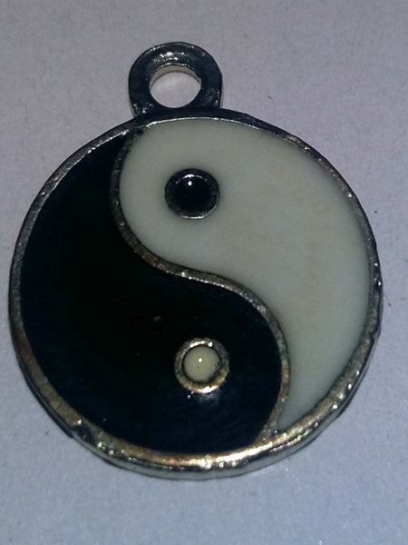 Black & White Ying Yang Locket - PCDH30AG16