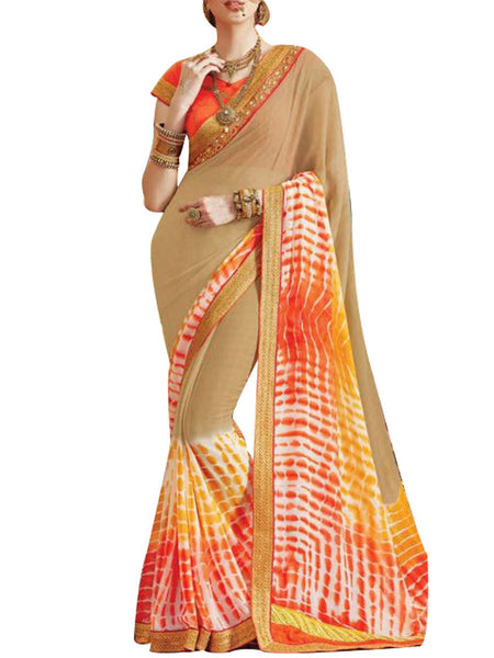 Saree From West Bengal In Gray - PWBSAI19JN29