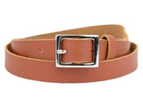 Brown Kanpur Leather Belt-CKUB3