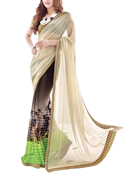 Saree From West Bengal In Multi - PWBSAI19JN80
