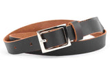 Dark Brown Kanpur Leather Belt-CKUB5