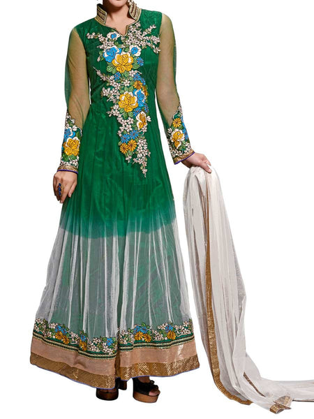 Magnificient Green Color  Anarkali Suit - ST-PKAS9JY29