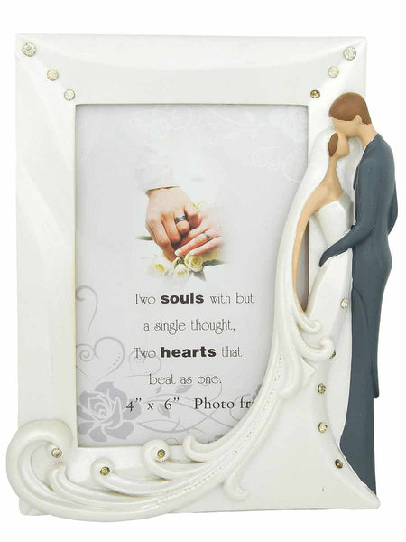 Love White Photo Frame in Ceramic for Living room - CWHDP28JL33