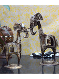 Metal Giraffe Couple-EC-HJRWME1SP6