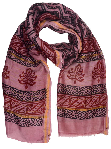 Chanderi Dupatta From Madhya Pradesh In MultiColour - ACMD10MH13