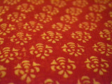 Chanderi Saree From Madhya Pradesh In Lava Red - ACMPSA10MH17