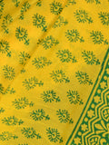 Chanderi Saree From Madhya Pradesh In Yellow - ACMPSA31MA16