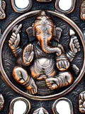 Metal Wall Hanging With 9 Variants Lord Ganesha-EC-HJRME23FB60