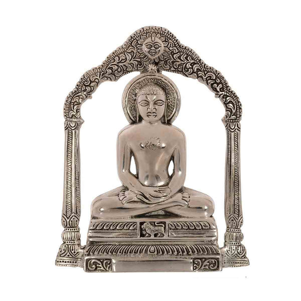 Metal Lord Mahavir Wall Hanging - EC-HJRMT3AG227