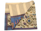 Cotton Double Bedsheet With 2 Pillow Cover From Rajasthan - AkBS5JNY15