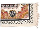 Cotton Single Bedsheet With 1 Pillow Cover From Rajasthan - ASBS15OCT7