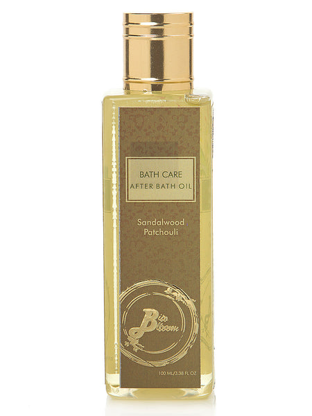 After Bath Oil - Sandalwood & Patchouli - No Llp Or Other Petrochemicals - BB-ABO26JL14