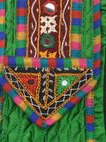 Kutch Embroidered Clutch From Gujarat In Green - B1HKGM16JN2