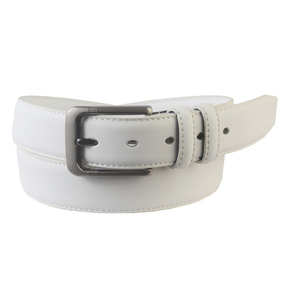 Formal Kanpur Belt In White-CKMB27SP2