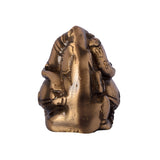 Brass Antique Finish Two Faced Lord Ganesha - EC-HJRME24MA112