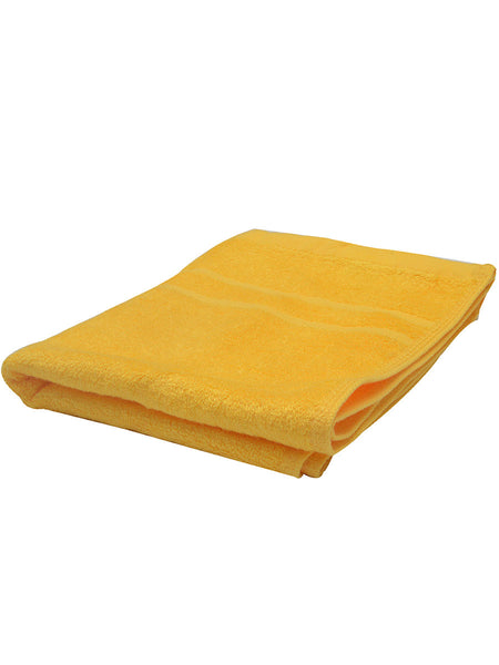 Set Of 2 Bamboo Hand Towels In Dark Yellow - BHDFT13AP5