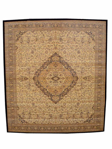 Bamboo Digital print Carpet In Brown - BHDPC26JN1