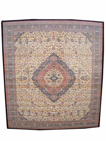 Bamboo Digital Print Carpet In Rust - BHDPC26JN2