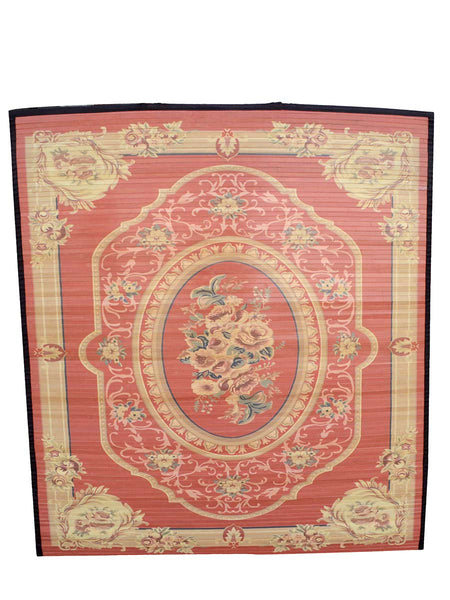 Bamboo Digital Print Carpet In Orange - BHDPC26JN3