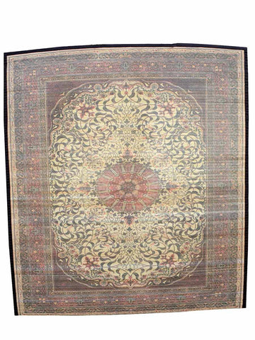 Bamboo Digital Print Carpet In Red - BHDPC26JN5