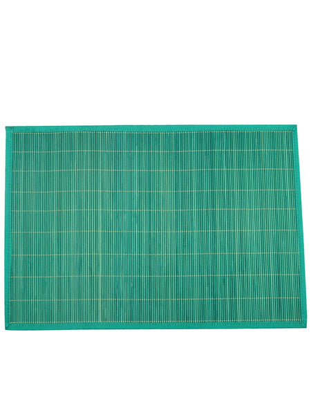 Bamboo coloured Place Mats In Green - BHDPM26JN3