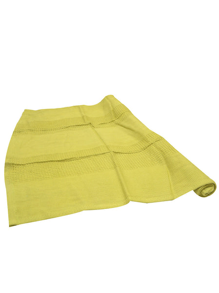 Bamboo Waffle Tea Towel In Green Set of 6 (Small) - BHDTT13AP18