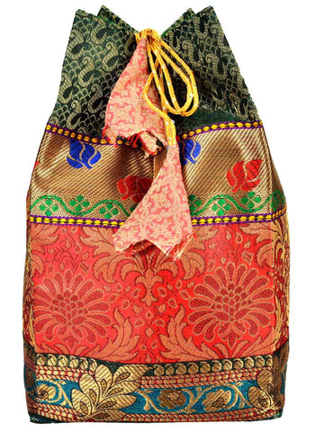 Banarasi Bag In Multi Color - S1-CBUB17FB2