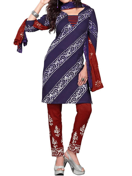 Cotton Suit From Kolkata In MultiColour - FPKWA18MA6