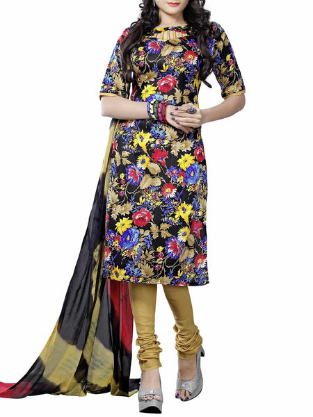 Cotton Suit From Kolkata In Multicolour - FPKWA9AG24