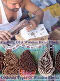 Wooden Blocks used for Hand Block Printing in Rajasthan
