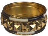 Bangle From Moradabad In Golden & Black-CHUJB29O31
