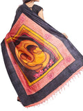 Pure Sonamukhi Silk  Saree From West Bengal - PWBSAI13AG8