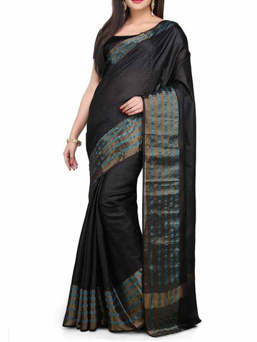 Banarasi Saree In Black - S1-PBUSA4AG33