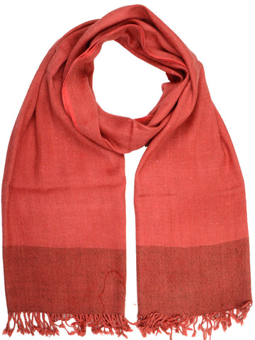 Stole From Tehri Garhwal In Folly Red - CKHS4SP1
