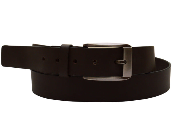 Black Formal Kanpur Leather Belt - CKMB2SP1