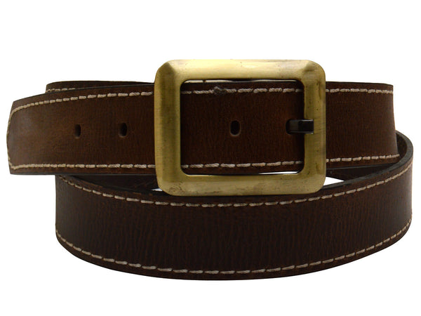 Brown Formal Kanpur Leather Belt - CKMB2SP2
