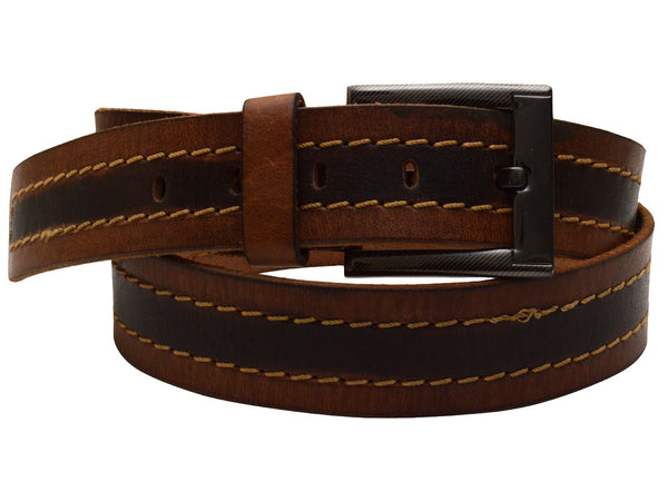 Brown Formal Kanpur Leather Belt - CKMB2SP3