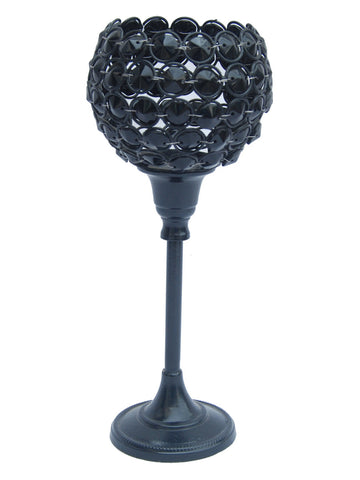 Candle Holder with Crystal Lamp From Moradabad - RJ-HDP31AG28