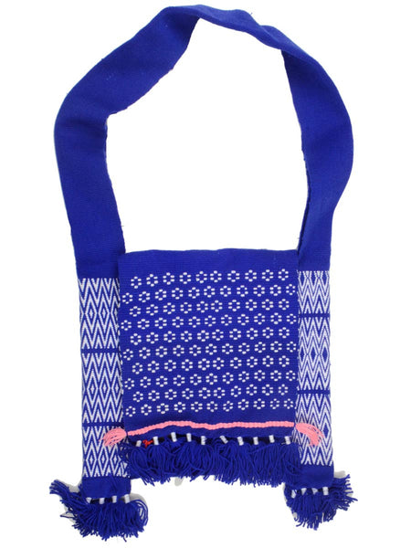 Shoulder Bag From Meghalaya In Blue - CMEBS19OCT3